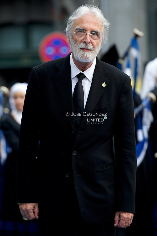 MIchael Haneke attends the 'Prince of Asturias Awards 2013' ceremony at the Campoamor Theater on October 25, 2013 in Oviedo, Spain.