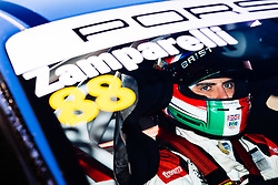 Dino Zamparelli takes his first race win of the season with a fastest lap   Bristol Sport Racing   #88 Porsche 911 GT3 Cup Car   Porsche Carrera Cup GB   Race 1 - Mandatory byline: Rogan Thomson/JMP - 07966 386802 - 27/09/2015 - MOTORSPORT - Silverstone Circuit - Towcester, England - BTCC Meeting Day 2.