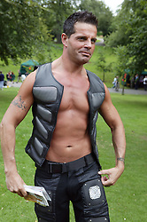 1 gay UK competitor at the Nottingham Pride Gay Lesbian festival; held at the Arboretum,