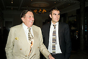 BARRY AND OSCAR HUMPHRIES, The Spectator 180th Anniversary party, at the Churchill Hotel, London, 7 May 2008.  *** Local Caption *** -DO NOT ARCHIVE-© Copyright Photograph by Dafydd Jones. 248 Clapham Rd. London SW9 0PZ. Tel 0207 820 0771. www.dafjones.com.
