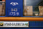The Trans-Siberian and Trans-Mongolian Railway link Moscow with Vladivistok in eastern Russia and with Ulan Bator and Beijing. Originally the train, built 1891, was built in order to transport goods from Russian far east provinces to European  Russia in Moscow and St. Petersburg.