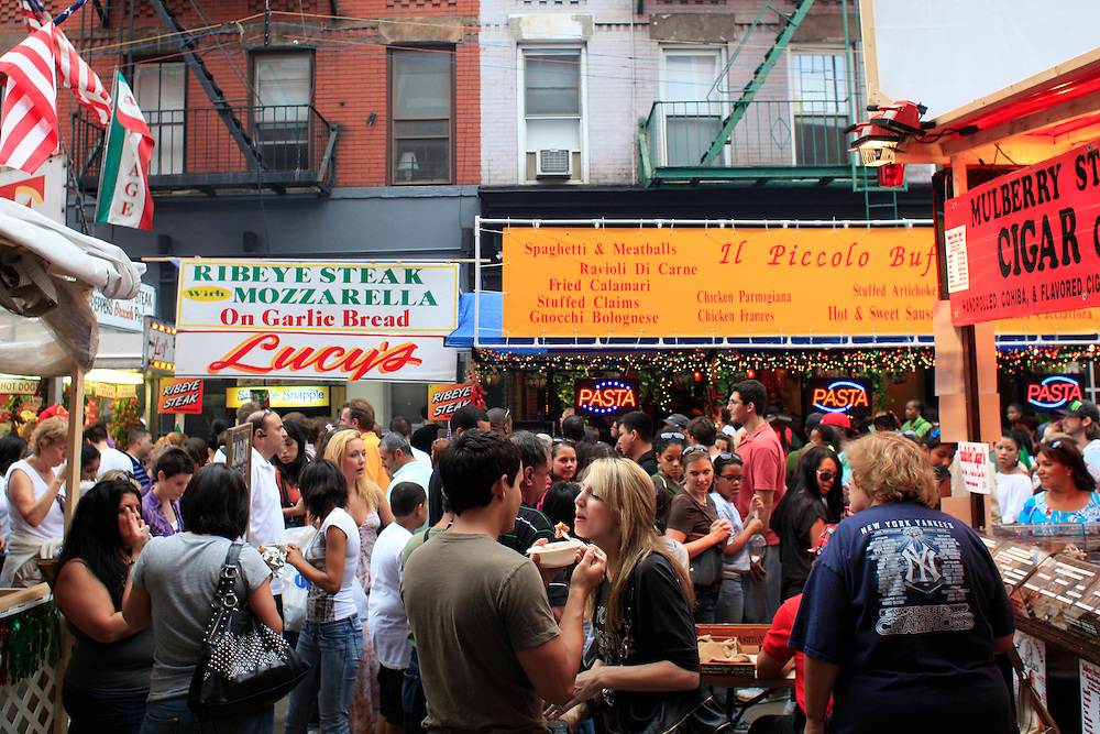 San Genaro Festival.  Little Italy, Manhattan