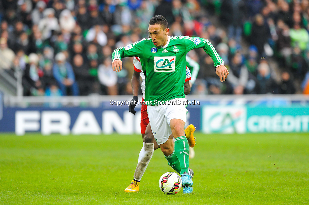 Mevlut ERDING  - 04.01.2015 - Saint Etienne / Nancy - Coupe de France<br /> Photo : Jean Paul Thomas / Icon Sport