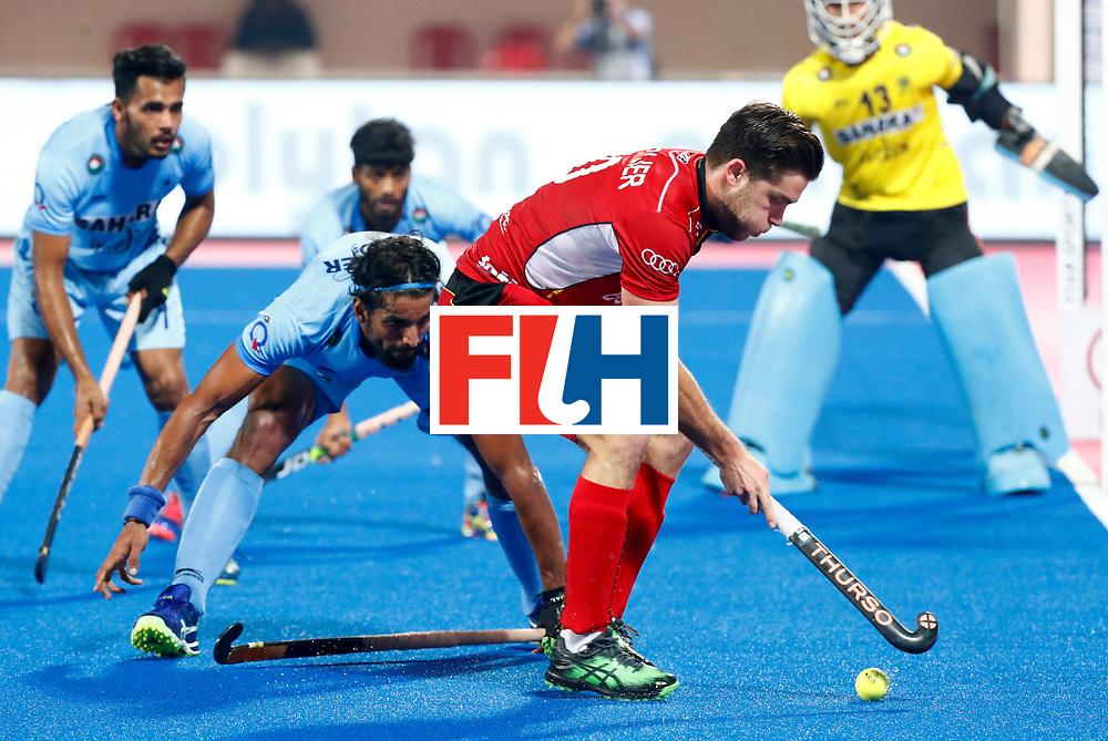 Odisha Men's Hockey World League Final Bhubaneswar 2017<br /> Match id:13<br /> Belgium v India<br /> Foto:<br /> COPYRIGHT WORLDSPORTPICS KOEN SUYK