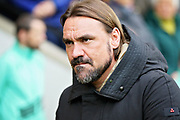 Norwich City manager Daniel Farke before the EFL Sky Bet Championship match between Norwich City and Queens Park Rangers at Carrow Road, Norwich, England on 6 April 2019.