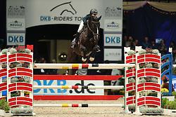 Heers Bliss, (USA), Prado K<br /> Champion von München<br />  Jumping München 2015<br /> © Hippo Foto - Stefan Lafrentz