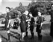 31/08/1952.08/31/1952.31August 1952.Scout camp (C.B.S.I.) at Larch Hill, Tibradden, All Ireland Scout Contest.