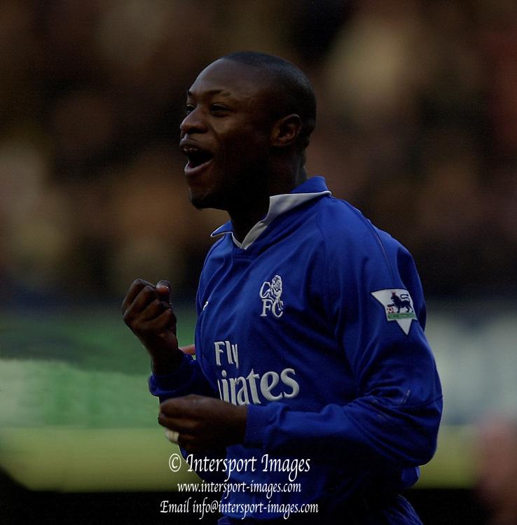 London, England, Barclaycard Premiership Football - Chelsea v Charlton, William Gallas, Photo - Peter Spurrier.11/01/2003