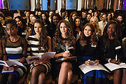 The rememberance service in memory of Maria Jose Alvaro - Miss Honduras - who was murdered along with her sister the week before arriving in London.