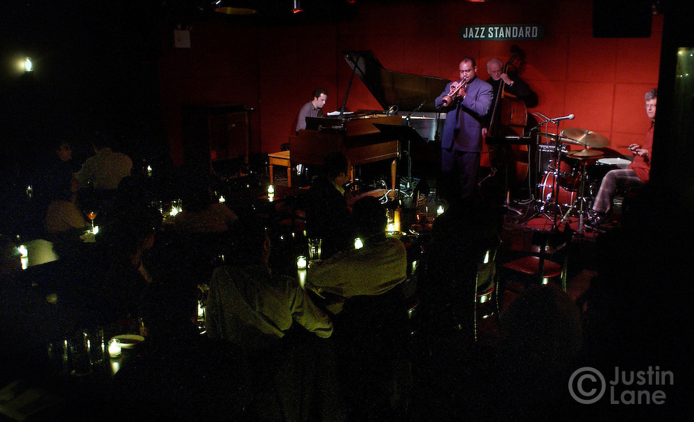 Matt Wilson's Arts and Crafts performs at the Jazz Standard in New York City 10 February 2005.<br /> JUSTIN LANE FOR THE DETROIT FREE PRESS