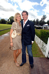 MALIN JOHNANSSON and TIM JEFFERIES at a charity polo match organised by Jaeger Le Coultre at Ham Polo Club, Richmond, Surrey on 29th June 2007.<br />