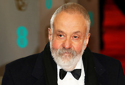© London News Pictures. Mike Leigh, EE British Academy Film Awards (BAFTAs), Royal Opera House Covent Garden, London UK, 08 February 2015, Photo by Richard Goldschmidt /LNP