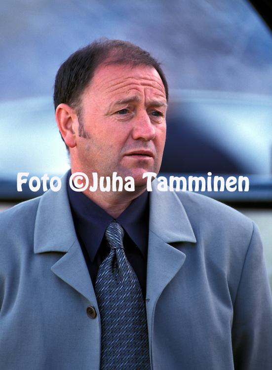 03.06.2000.Coach Gary Johnson - Latvia.©Juha Tamminen