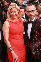 Nadja Swarovski and Rolf Snoeren at the the How to Train Your Dragon 2 gala screening red carpet at the 67th Cannes Film Festival France. Friday 16th May 2014 in Cannes Film Festival, France.