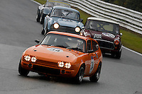 #34 Phil Otley Reliant Scimitar GTE 2994 during the CSCC Adams and Page Swinging Sixties at Oulton Park, Little Budworth, Cheshire, United Kingdom. October 15 2016. World Copyright Peter Taylor/PSP. <br /> Copy of publication required for printed pictures.  Every used picture is fee-liable. http://archive.petertaylor-photographic.co.uk