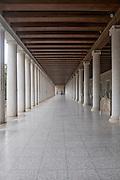 Greece, Athens, The Greek Agora Stoa of Attalos