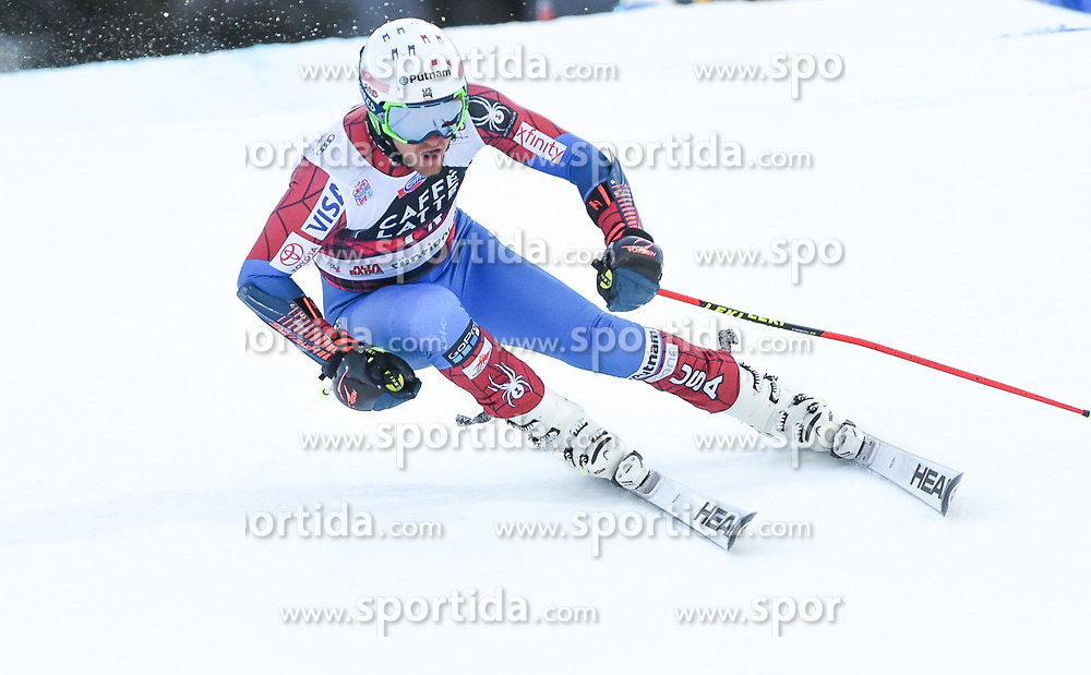 17.12.2017, Grand Risa, La Villa, ITA, FIS Weltcup Ski Alpin, Alta Badia, Riesenslalom, Herren, 1. Lauf, im Bild Ted Ligety (USA) // Ted Ligety of the USA in action during his 1st run of men's Giant Slalom of FIS ski alpine world cup at the Grand Risa in La Villa, Italy on 2017/12/17. EXPA Pictures © 2017, PhotoCredit: EXPA/ Erich Spiess
