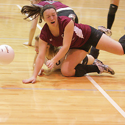 2008 October 23:  Girls high school volleyball match between Episcopal of Baton Rouge and St. Thomas Aquinas Falcons at the St. Thomas High School Gym in Hammond, LA.