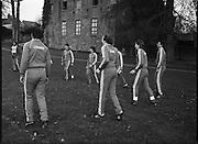 Ireland Soccer Team Training.1983.14.11.1983.11.14.1983.14th November 1983..The Ireland Soccer team trained, for the forthcoming match against Malta, at Stewarts Hospital,Palmerstown Dublin.The entire squad was:..Liam Brady......Brian Cottington.....Gerry Daly....John Devine.....Leo Donnellan.....Tony Galvin.....Tony Grealish.....Ashley Grimes.....Greg Hayes....Chris Hughton....Dennis Irwin.....Patrick Kelch.....Gary Alexander Kelly.....Mark Lawrenson.....Mick Martin......Seamus McDonagh...Edward McGinley.....Brian Mooney.....Kevin Moran......Derek Murray......Liam O'Brien.....Kevin O'Callaghan..David O'Leary..Kenneth Petit de Mange....Paul Power.....Michael Robinson..John Sheridan..Frank Stapleton.....Gary Waddock..Micky Walsh.....Mike Walsh II......Ronnie Whelan
