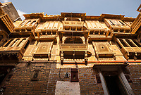 One of the many amazing Havelis in Jaisalmer, Rajasthan, India.