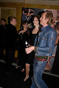 Rhys Ifans and Saffron Burrows. MAC VIVA GLAM V party launching MAC Cosmetics latest charity lipstick at Home House. London. April 21 2005n. All proceeds go straight to the MAC AIDS Fund,. ONE TIME USE ONLY - DO NOT ARCHIVE  © Copyright Photograph by Dafydd Jones 66 Stockwell Park Rd. London SW9 0DA Tel 020 7733 0108 www.dafjones.com