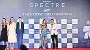 TOKYO, JAPAN - NOVEMBER 16: (CHINA OUT) <br /> <br /> Tokyo Bond Girl Collection For Spectre<br /> <br /> A model showcases designs on the runway at Tokyo Bond Girl Collection on November 16, 2015 in Tokyo, Japan.<br /> ©Exclusivepix Media