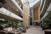 Interior view of Spa & Health centre of Mirotel Resort & Spa hotel. Mirotel is 5* resort located in the heart of Truskavets, in western Ukraine.