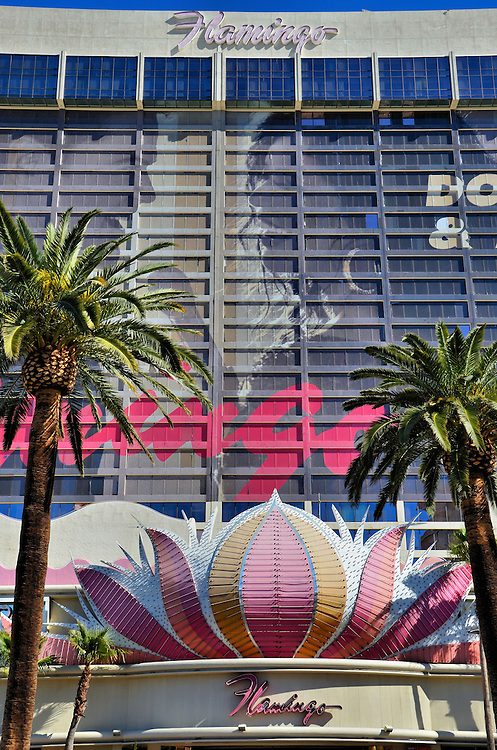 Flamingo Built by Bugsy Siegel in Las Vegas, Nevada<br />