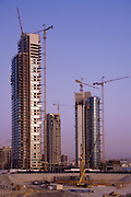 Highrise apartment building construction - Dubai, United Arab Emirates <br />