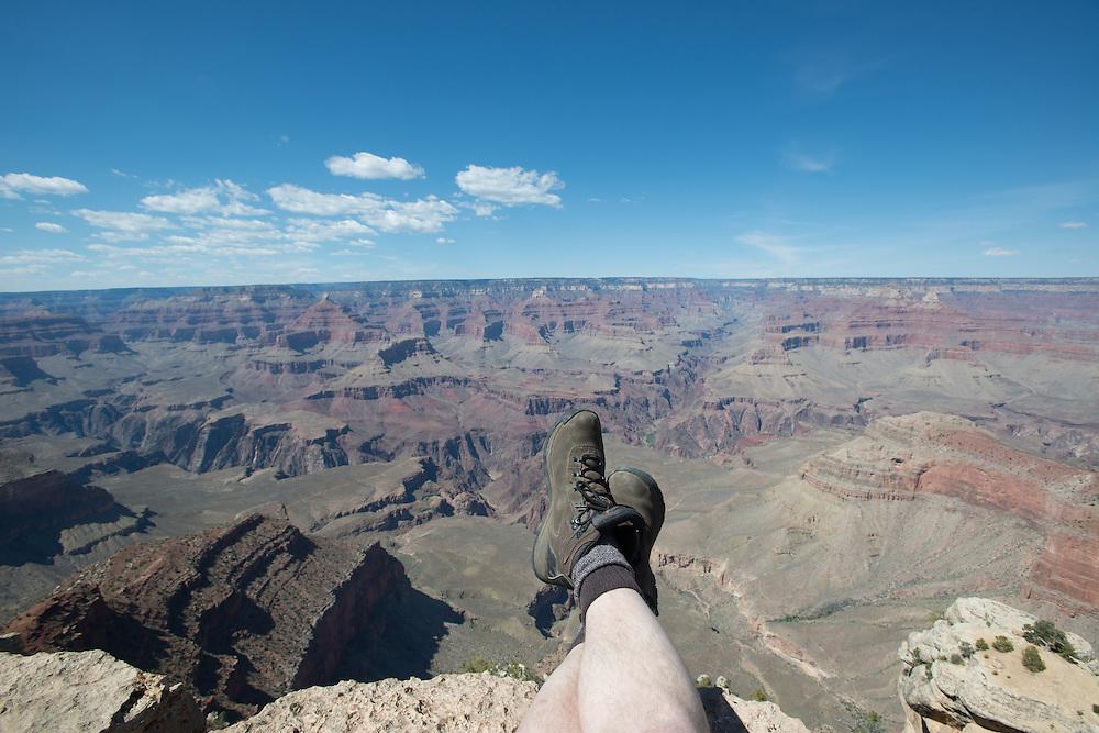 Hiking Boots at Grand Canyon