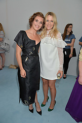 Left to right, VICKY McCLURE and EDITH BOWMAN at the Glamour Magazine Women of the Year Awards in association with Next held in the Berkeley Square Gardens, London on 7th June 2016.