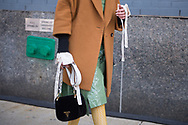 Prada Bag on Thania Peck, NYFW Day 1