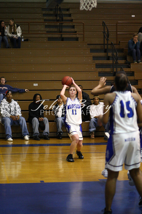MCHS Varsity Girls Basketball.vs Manassas Park.District Quarter Finals.2/18/2008..