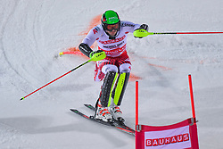 19.02.2019, Stockholm, SWE, FIS Weltcup Ski Alpin, Parallelslalom, Herren, im Bild Michael Matt (AUT) // Michael Matt of Austria in action during the men's parallel slalom of FIS ski alpine world cup at the Stockholm, Sweden on 2019/02/19. EXPA Pictures © 2019, PhotoCredit: EXPA/ Nisse Schmidt<br /> <br /> *****ATTENTION - OUT of SWE*****