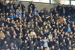Bristol Rovers fans including Wael Al-Qadi president of Bristol Rovers FC attend the game against Millwall at The Den - Mandatory by-line: Dougie Allward/JMP - 12/11/2016 - FOOTBALL - The Den - London, England - Millwall v Bristol Rovers - Sky Bet League One