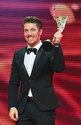 29.10.2015, Austria Center Vienna, Wien, AUT, Lotterien-Gala, Nacht des Sports 2015, im Bild Marcel Hirscher (Sportler des Jahres) // during Lotterien galanight of sports 2015 at Austria Center in Vienna on 2015/10/29, EXPA Pictures © 2015 PhotoCredit: EXPA/ Michael Gruber