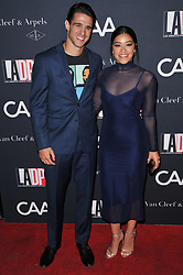 (L-R) Joe LoCicero and Gina Rodriguez arrives at the L.A. Dance Project's Annual Gala held at LA Dance Project in Los Angeles, CA on Saturday, October 7, 2017. (Photo By Sthanlee B. Mirador/Sipa USA)