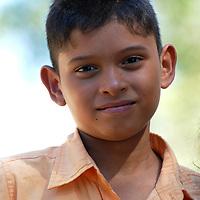 Niño llanero del estado Cojedes. El Baul. Child llanero of the state Cojedes. Venezuela