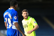 Gary Deegan during the Sky Bet League 1 match between Rochdale and Southend United at Spotland, Rochdale, England on 25 March 2016. Photo by Daniel Youngs.