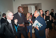 OSWALD BOATENG; MARIKO MORI; ANTONY FAWCETT; ANISH KAPOOR, Gala Opening of RA Now. Royal Academy of Arts,  8 October 2012.