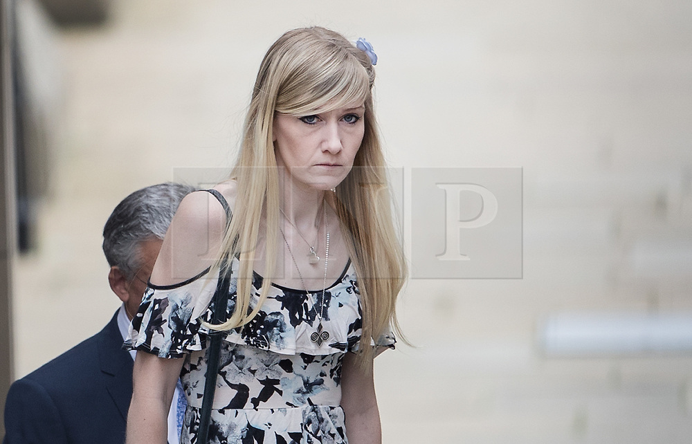 © Licensed to London News Pictures. 25/07/2017. London, UK. CONNIE YATES arrives at The The Royal Courts of Justice in London . The parents of terminally ill Charlie Gard have returned to court in an attempt to take their terminally ill son home to die rather than ending his life in hospital. Yesterday a court ruled that Charlie, who suffers from a rare genetic condition known as mitochondrial DNA depletion syndrome, should not be taken to US for further treatment. Photo credit: Peter Macdiarmid/LNP