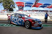 Jason Bright (BOC Holden). 2016 Clipsal 500 Adelaide. V8 Supercars Championship Round 1. Adelaide Street Circuit, South Australia. Friday 4 March 2016. Photo: Clay Cross / photosport.nz
