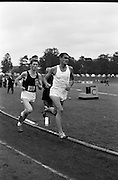 17/07/1967<br /> 07/17/1967<br /> 17 July 1967<br /> International Athletics at Santry Stadium, Dublin. Image shows Australia's Ron Clarke leading the Men's Three Mile International race, which he won, closely followed by Scotland's I. McCafferty who placed second.
