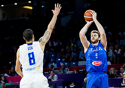 Nicolo Melli of Italy during basketball match between National Teams of Finland and Italy at Day 10 in Round of 16 of the FIBA EuroBasket 2017 at Sinan Erdem Dome in Istanbul, Turkey on September 9, 2017. Photo by Vid Ponikvar / Sportida