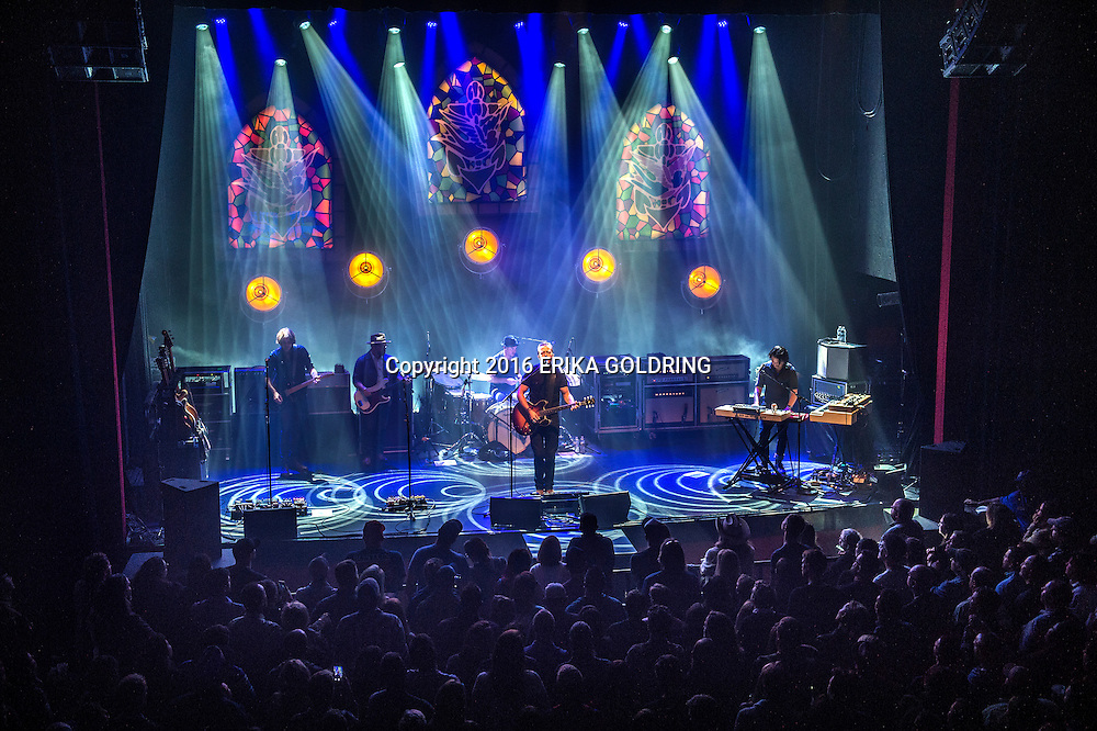 NEW ORLEANS, LA - OCTOBER 23:  (L-R) Sadler Vaden, Jimbo Hart, Chad Gamble, Jason Isbell and Derry deBorja perform at The Joy Theater on October 23, 2016 in New Orleans, Louisiana.  (Photo by Erika Goldring/Getty Images) *** Local Caption *** Sadler Vaden;Jimbo Hart;Chad Gamble;Jason Isbell;Derry deBorja