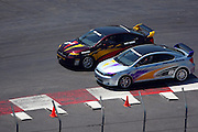 LONG BEACJ, CA - APRIL 18:  Fast cars compete in race festivities at the 2009 Long Beach Grand Prix on Saturday, April 18, 2009 in Long Beach, California. ©Paul Anthony Spinelli