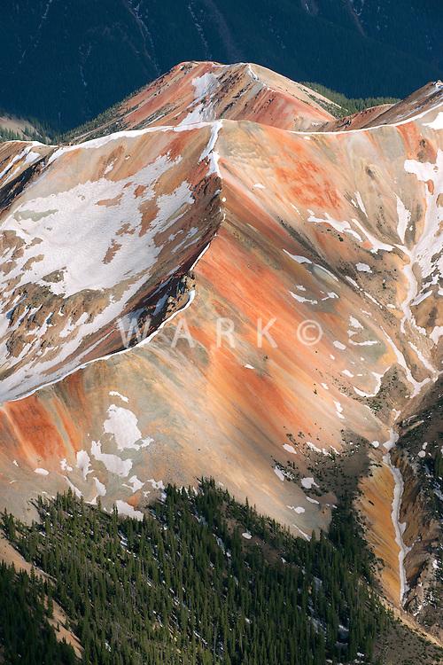 San Juan Mountains near Telluride, Colorado.  June 2013.