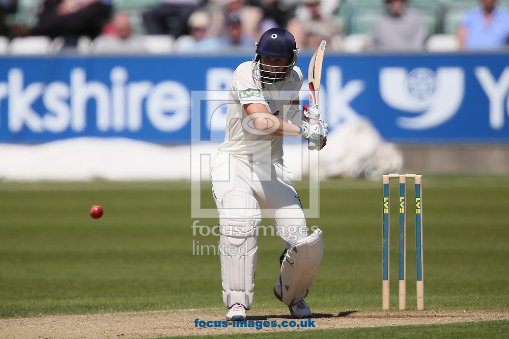 Picture by Paul Gaythorpe/Focus Images Ltd +447771 871632.25/05/2013.Scott Borthwick of Durham County Cricket Club batting against Middlesex County Cricket Club during the LV County Championship Div One match at Emirates Durham ICG, Chester-le-Street.