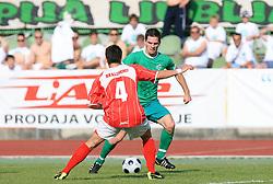 Davor Bubanja of Olimpija  at final match of 2nd SNL league between NK Olimpija in NK Aluminij, on May 23, 2009, ZAK, Ljubljana, Slovenia. Aluminij won 2:1. NK Olimpija is a Champion of 2nd SNL and thus qualified to 1st Slovenian football league for season 2009/2010. (Photo by Vid Ponikvar / Sportida)