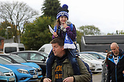 Young Dale fan pre-match during the EFL Sky Bet League 1 match between Rochdale and Gillingham at Spotland, Rochdale, England on 23 September 2017. Photo by Daniel Youngs.